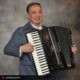 One man band accordionist