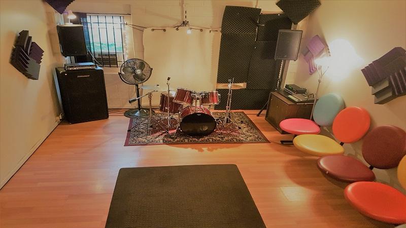 Groove Room Toronto Rehearsal Solo Studio